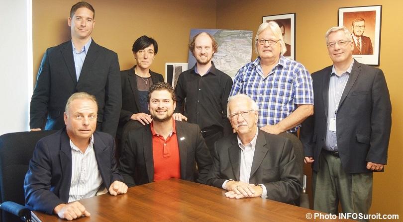 membres du conseil administration du Port de Valleyfield juin 2018 photo INFOSuroit