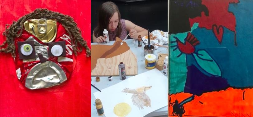 oeuvres art enfantin maison_des_enfants Marie-Rose photos via MRC