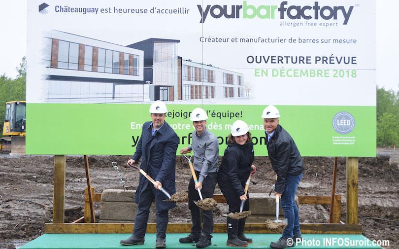 pelletee de terre symbolique parc industriel Chateauguay pour Yourbarfactory photo INFOSuroit