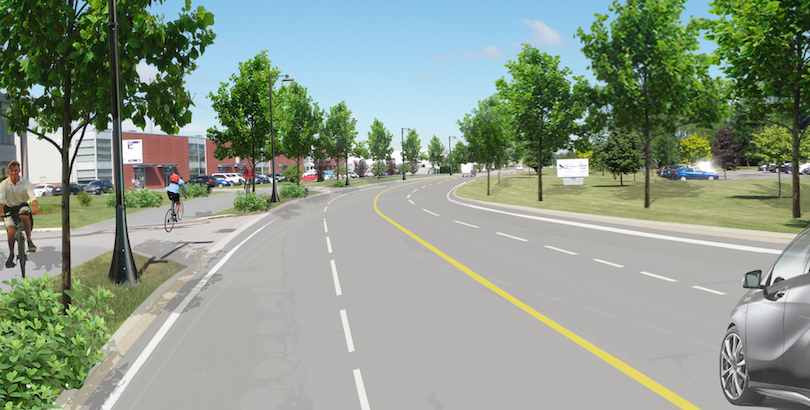 projet-reamenagement-boul_Industriel-a-Chateauguay-visuel-courtoisie-VC
