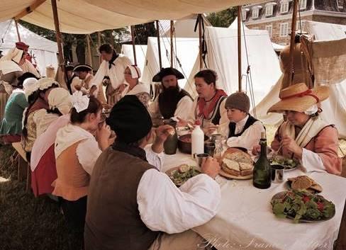 tablee_de_l_habitant banquet Seigneuriales Vaudreuil-Dorion photo courtoisie MRVS