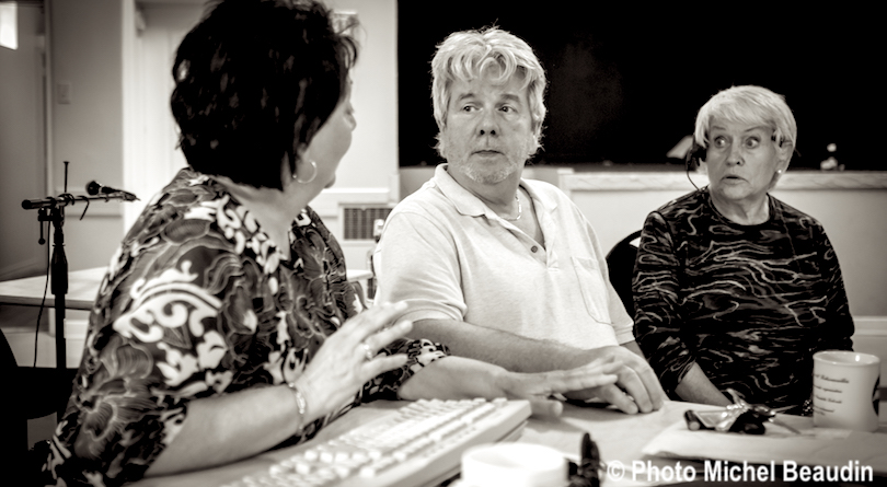 trois des comediens de La_Bebelle Theatre de la Riviere-Noire photo Michel_Beaudin via TRN