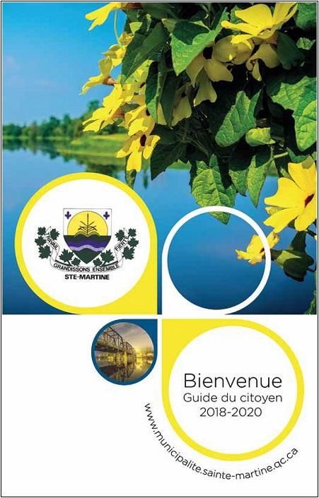 Guide_du_Citoyen 2018-2020 de Sainte-Martine page frontispice