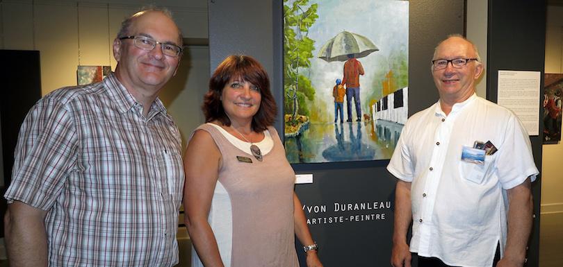 Lancement exposition Parcelles_de_vie Yvon_Duranleau au Musee regional VS photo courtoisie MRVS