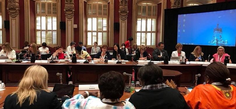 creation Reseau jeunes parlementaires de francophonie juillet2018 Quebec photo courtoisie bureau AnneQuach