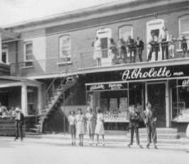 magasin Cholette Quartier Nord a Valleyfield photo courtoisie Comite Patrimoine Anciens Quartiers CPAQ