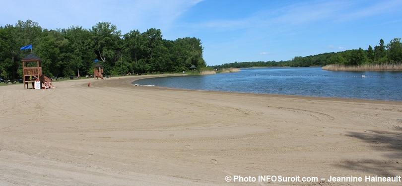 plage du parc regional des iles de St-Timothee juin 2018 photo INFOSuroit-Jeannine_Haineault