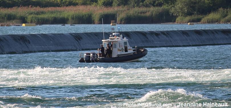 recherche SQ pecheurs pres barrage Hydro-Qc a Beauharnois secteur Melocheville Photo INFOSuroit-Jeannine_Haineault