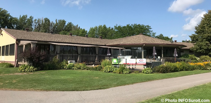 Club de golf Valleyfield clubhouse saison 2018 photo INFOSuroit