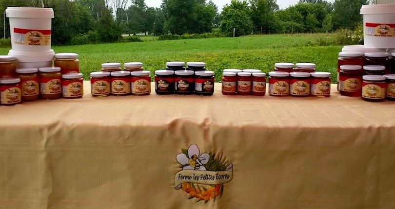 Ferme Les_Petites_Ecores a Pointe-Fortune produits miel et caramel avec argousiers photo courtoisie