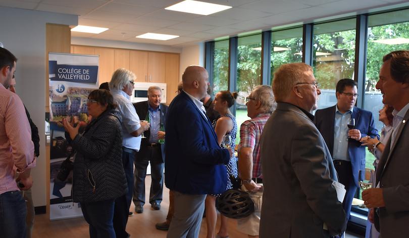 Inauguration Residence etudiante cegep Valleyfield photo courtoisie College Valleyfield
