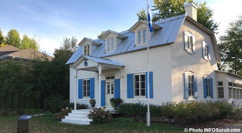 Maison Felix-Leclerc a Vaudreuil-Dorion automne 2017 photo INFOSuroit