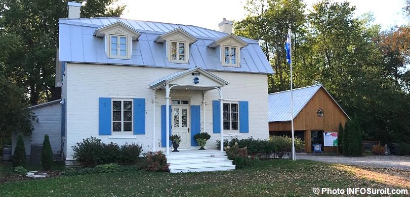 Maison Felix-Leclerc a Vaudreuil-Dorion et bureau accueil 2017 photo INFOSuroit