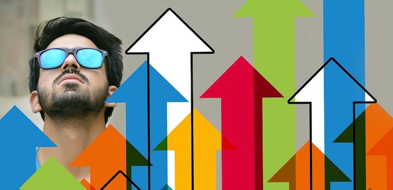 entrepreneuriat croissance statistiques photo et visuel Geralt via Pixabay CC0 et INFOSuroit
