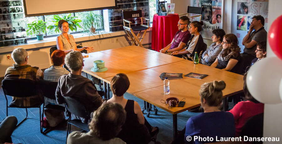 Journee de la culture echange avec artiste realisateur photo Laurent_Dansereau via JDC