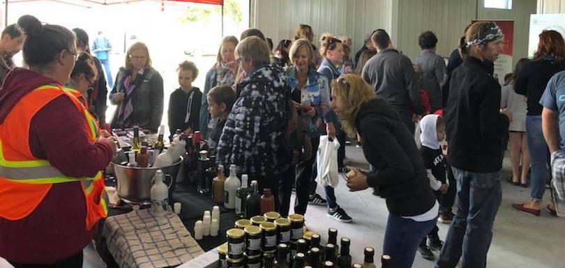 Miel nature Beauharnois visiteurs portes ouvertes sur les fermes photo via UPA