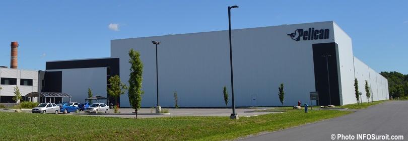 Pelican International usine Salaberry-de-Valleyfield aout 2018 photo INFOSuroit