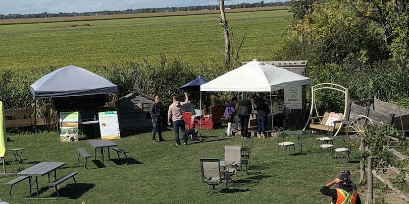 Portes ouvertes sur les fermes Vignoble Vertefeuille LaPrairie Photo via UPA