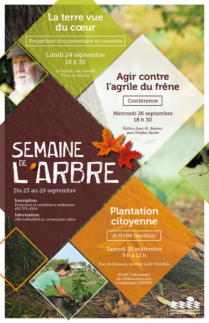 affiche Semaine_de_l_arbre 2018 a Valleyfield