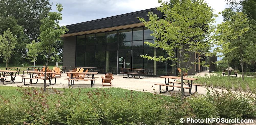chalet Centre ecologique Fernand-Seguin a Chateauguay juin 2018 photo INFOSuroit