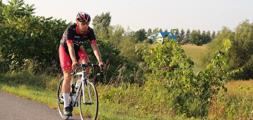 cycliste piste cyclable parc regional Beauharnois-Salaberry photo courtoisie MRC