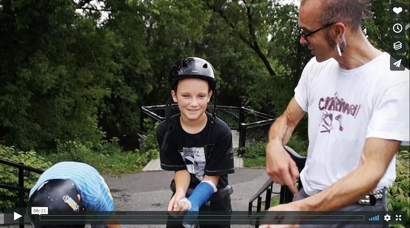 lien video Ramon_Vitesse extrait de documentaire chaine Vimeo de Raphelle_Mercier