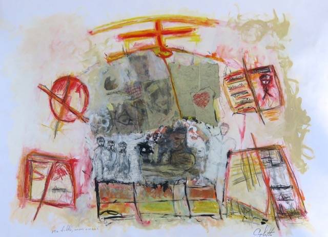 oeuvre Ma_fille_mon_amour de Richard Caplette exposition au Musee regional VS photo courtoisie
