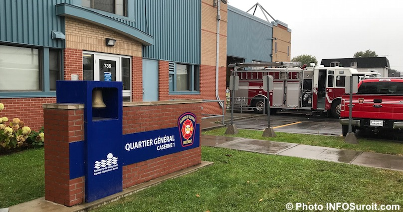 quartier general caserne pompiers Valleyfield oct2017 photo INFOSuroit