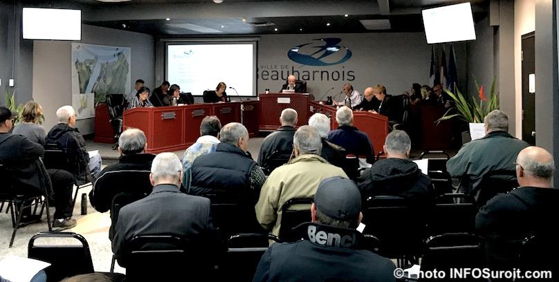 2oct2018 seance conseil municipal Ville Beauharnois Photo INFOSuroit