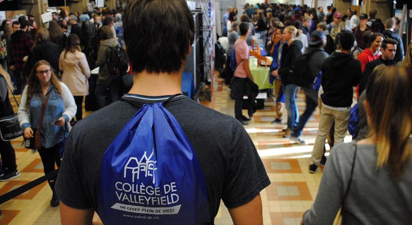 Cegep de Valleyfield Portes ouvertes visiteurs photo courtoisie CollegeValleyfield publiee par INFOSuroit