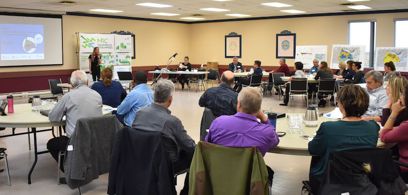 Forum sur vulnerabilite eaux souterraines MRC Vaudreuil-Soulanges oct2018 photo via MRC