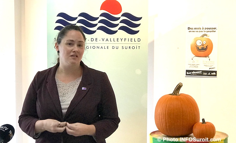 Maggy_Hinse Valleyfield environnement campagne Sauvons les citrouilles photo INFOSuroit