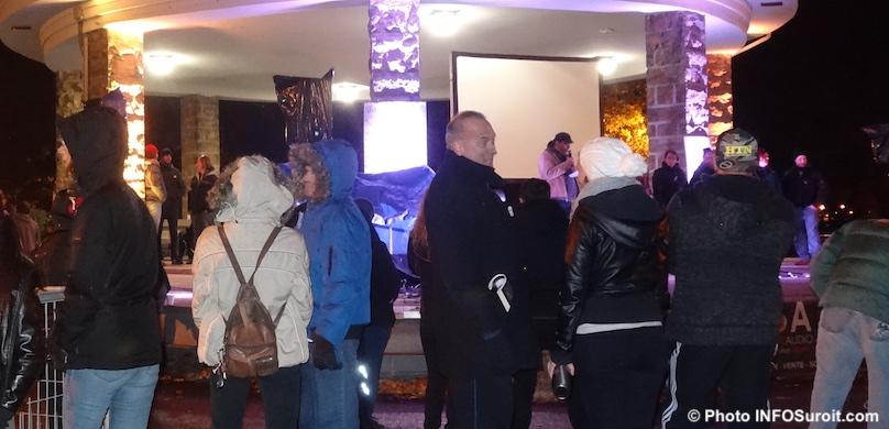 Nuit des sans-abri Valleyfield parc Delpha-Sauve photo INFOSuroit