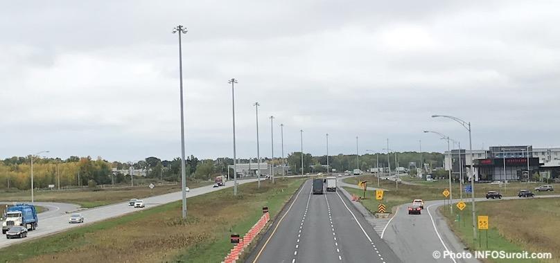 autoroute 40 depuis avenue Saint-Charles a Vaudreuil-Dorion oct2018 photo INFOSuroit