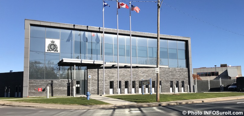 bureaux GRC detachement de Valleyfield oct2018 photo INFOSuroit
