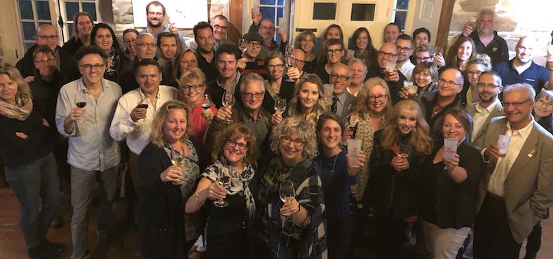 cloture saison touristique Vaudreuil-Soulanges 2018 photo de groupe courtoisie ExploreVS et DEVVS