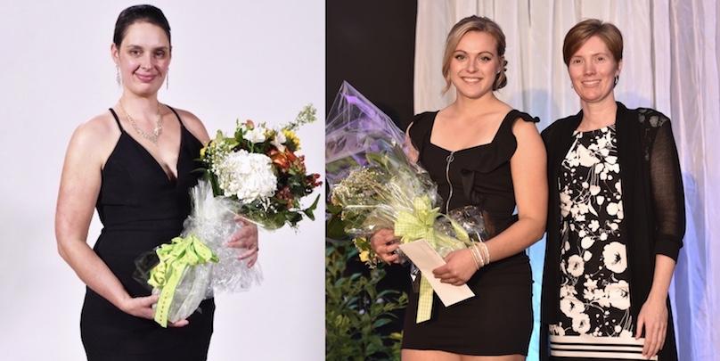 gala Saturne laureates 2018 Monteregie-Ouest JosianeCarriere et EmilieLeroux photo courtoisie FAQ