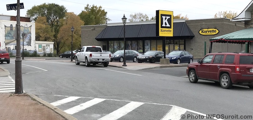 nouveau magasin Korvette au centre-ville Beauharnois oct2018 photo INFOSuroit