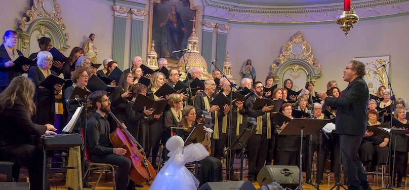 Choeur_en_Fugue de Chateauguay concert Noel 2017 photo via Facebook