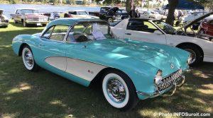 Corvette et voitures anciennes exposition autos antiques sept2018 photo INFOSuroit