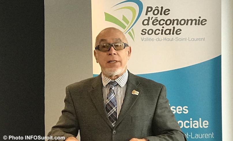 YCardinal prefet suppleant MRCVS et maire Pincourt lancement campagne economie sociale photo INFOSuroit