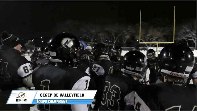 cegep Valleyfield equipe Championne 2018 Bol_d_or capture ecran TVGO via RSEQ
