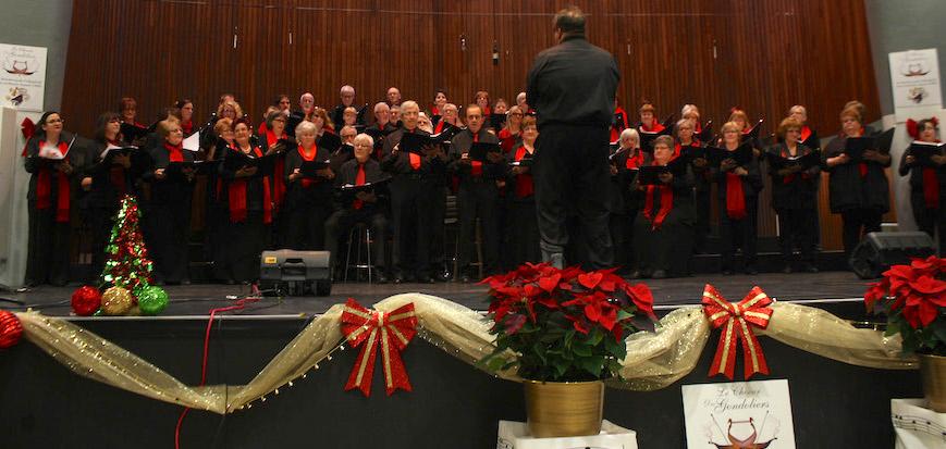 choeur des Gondoliers spectacle de Noel photo courtoisie via AChenard