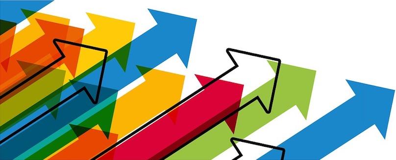 fleche croissance affaires objectif visuel Geralt via Pixabay CC0 et INFOSuroit