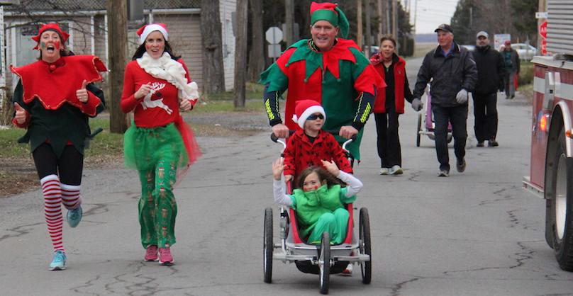 participants course et marche de Rudolphe 2017 a Ormstown photo courtoisie