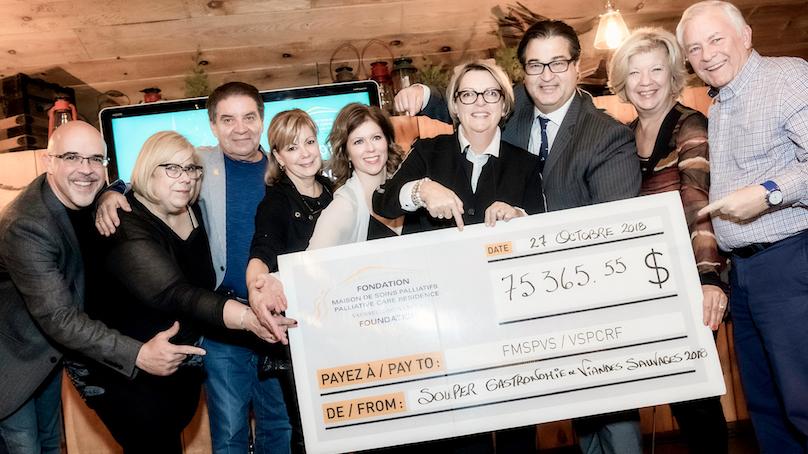souper viandes sauvages 2018 pour Fondation Maison soins palliatifs VS photo FMSPVS