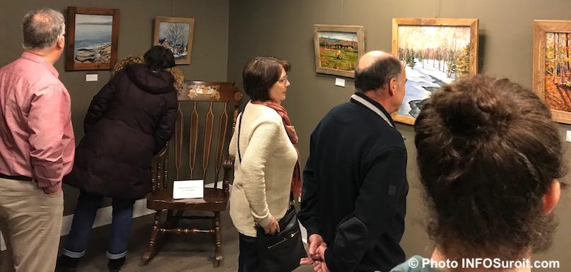 vernissage exposition Linda_T-Rio galerie Marie et Pierre Dionne 2018 a la MRC photo INFOSuroit