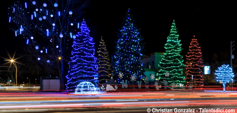 Decorations Noel hiver Copyright photo Christian_Gonzalez via Ville Vaudreuil-Dorion