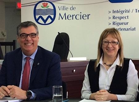 ReneChalifoux-dg-et-LiseMichaud-mairesse-Photo-courtoisie-Ville-de-Mercier