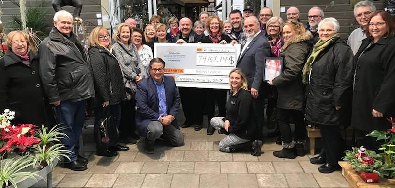 campagne poinsettias 2018 Fondation maison soins palliatifs Vaudreuil-Soulanges photo MSPVS